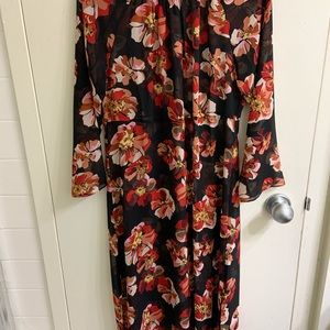 Madewell Sheer Floral Dress